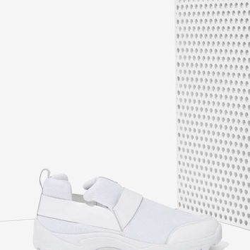 Jeffrey Campbell Majken Leather Trainer
