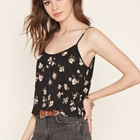 Floral Print Crepe Cami | Forever 21 - 2000203554