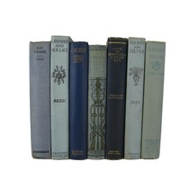 Blue Decorative Set of Books, S/7