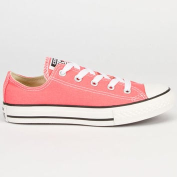 Converse Chuck Taylor All Star Low Girls Shoes Carnival Pink  In Sizes