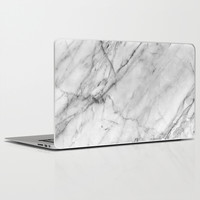 Marble Laptop & iPad Skin by Patterns And Textures