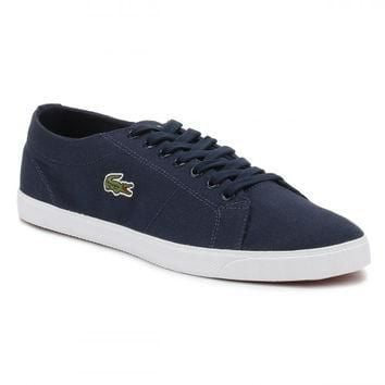 Lacoste Mens Navy Marcel LCR2 SPM Trainers