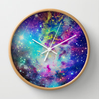 Fox Nebula Wall Clock by Starstuff