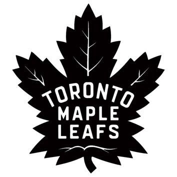 Toronto For Maple Leafs NHL Team Logo Color Vinyl Decal Motorcycle SUVs Bumper Sticker Car Window Wall Art Tattoos