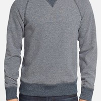 Men's Billy Reid Reversible Crewneck Sweatshirt,