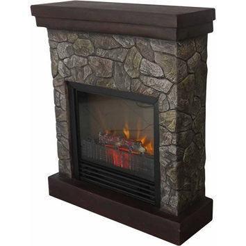 Home Polyfiber Electric Fireplace, 26""