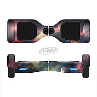 The Vintage Stormy Sky Full-Body Skin Set for the Smart Drifting SuperCharged iiRov HoverBoard
