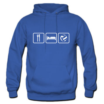 Eat Sleep Volleyball Hoodie