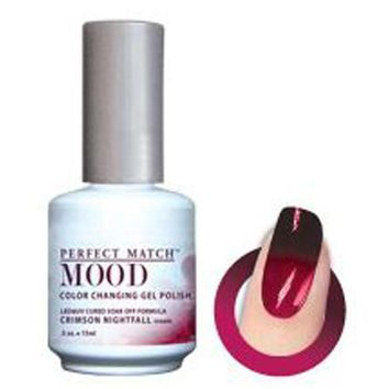 Lechat Mood Gel Crimson Nightfall 0.5 oz