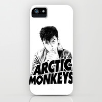 arctic monkeys Alex Turner iPhone & iPod Case by sgrunfo