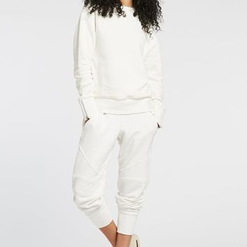 Michi Combat White Sweatpants