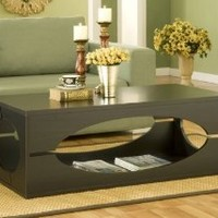 Enitial Lab Somer Rectangular Coffee Table, Cappuccino