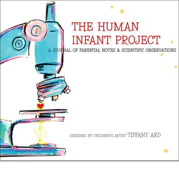 The Human Infant Project Baby Keepsake Journal Memory Book