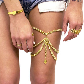 Mary Jane Leg Chain