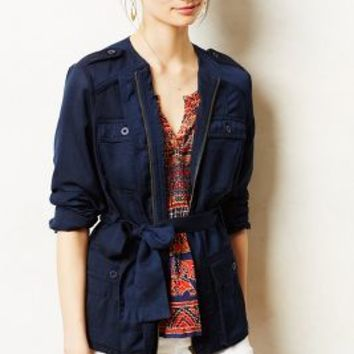 Belted Anorak by Hei Hei