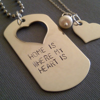 Home Is Where My Heart Is Military Couple Set