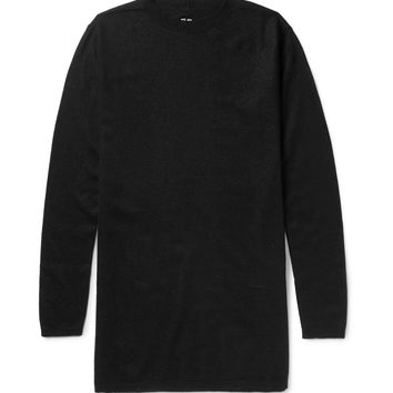 Rick Owens - Oversized Boiled Cashmere Sweater