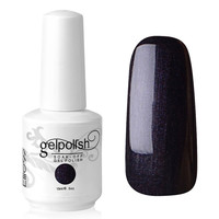 Black Soak Off Gel Nail Polish - Choies.com