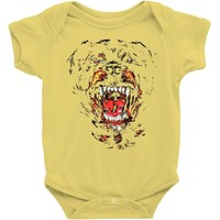 givenchy dog Baby Onesuit
