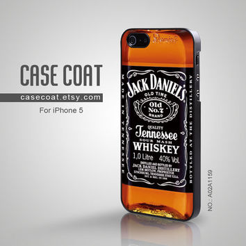 iPhone 5 Case  Jack Daniels Cool old no 7 Tennessee by CaseCoat