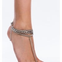 Bonded Links Chain Ankle Bracelet - GoJane.com