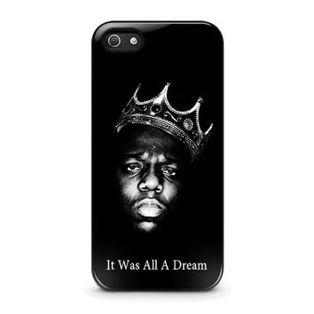 notorious big iphone 5 5s se case cover  number 1