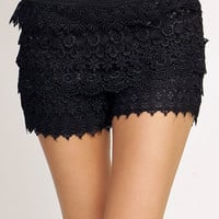 Dreaming of Lace Shorts