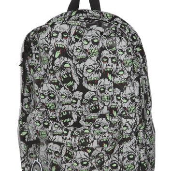 Glow-In-The-Dark Zombie Backpack | Hot Topic