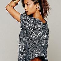 Free People  Carousel Tee at Free People Clothing Boutique
