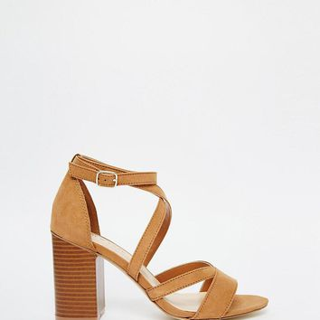 New Look | New Look Strappy Block Heeled Sandal at ASOS