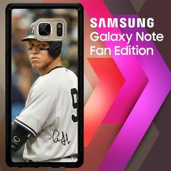 Aaron Judge New York W4979 Samsung Galaxy Note FE Fan Edition Case