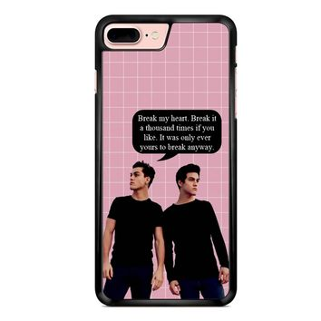 Dolan Twins Quotes Ethan Grayson iPhone 7 Plus Case