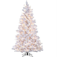 Artificial Tree - 4 Ft. - Flocked White Pine