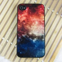 Galaxy Shading Hard Cover Case For Iphone 4/4s