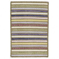 Colonial Mills Seascape Beach Front Striped Braided Rug - SE80 - Chenile Rugs - Area Rugs by Material - Area Rugs