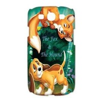 Mystic ZoneThe Fox and The Hound Samsung Galaxy S3 Case for Samsung Galaxy S3 Hard Cover Cartoon Fits Case HH0346