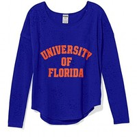 University of Florida Burnout Long-sleeve Drapey Tee