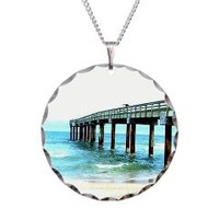 Fishing Pier Photograph Necklace> St. Augustine Fishing Pier> One Stop Gift Shop