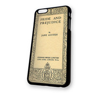 Book Cover jane Austen Pride iPhone 6 case