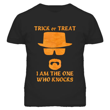 Unisex I Am The One Who Knocks Heisenberg T-Shirt