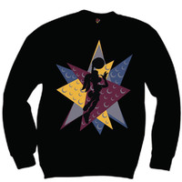 The Fresh I Am Clothing Lola Bordeaux 7's Crewneck
