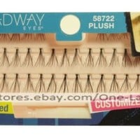 BROADWAY EYES Single Individual Clusters #58722 PLUSH False Eye Lashes EYELASHES