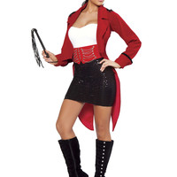 Deluxe 6pc Ringmaster - Red/Black/White