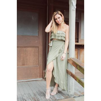 Coco Olive Top