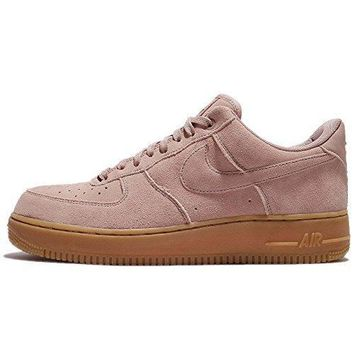 Nike Men's Air Force 1 07 Lv8 Suede Particle Pink/particle Pink
