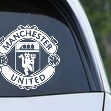 Manchester United Football Club Inspired Die Cut Vinyl Decal Sticker