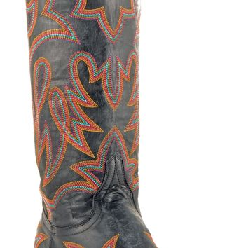 Womens Old Gringo Lauren Boots Black #L1097-9