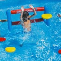Swimming Pool Disc Toss Game - Inflatable Floating Target