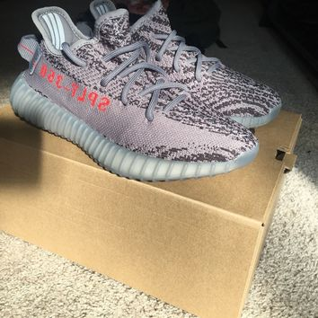 Yeezy Boost 350 V2 Beluga 2.0 Sz:4 Grey Orange