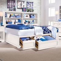 Muse Platform Storage Bed